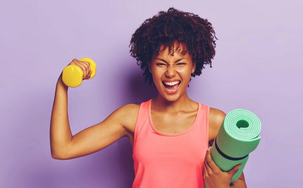 La motivation d'une femme pour aller faire du sport