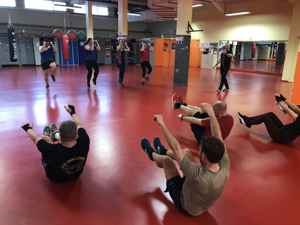 Adhérents Sportiiz qui pratique la Savate Forme